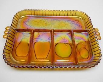 Vintage Divided Serving Dish