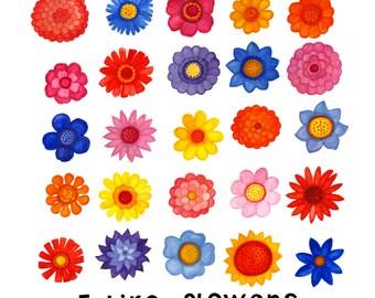 I Like Flowers 12X12 Print