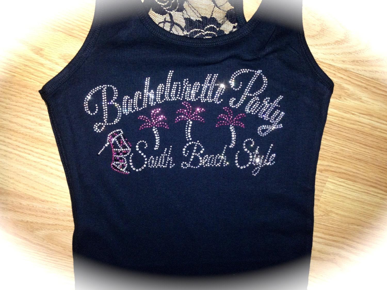 4 Miami Bachelorette Party T Shirts 4 South Beach