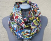 Adult Marvel Comic Book Infinity Scarf