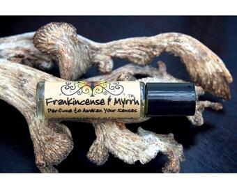 Frankincense and Myrrh cologne, mens aftershave, men's fragrance, meditation, incense