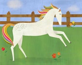 Picturesque Prance, Canvas Wall Art