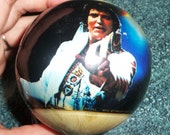 70s Elvis Presley Ornament