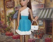 Going Downtown Dress & Blouse Crochet Pattern For Ellowyne Fits Antionette Digital Download by djemorin