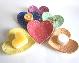 Heart plate set ring dish