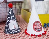 Nautical Party Hats - Printable