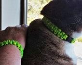 Friendship Cat Collar, Friendship Bracelet, Best Friends Cat Collar