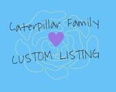 Custom listing for Heather K.