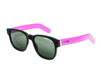 L.A. GEAR Black /  Purple Vintage Sunglasses - LA Gear Moves 1 - wayfarer model