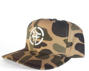 KLCTVEfusion Tan Camo Snapback cap