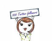 500 Hand-Picked Twitter Followers AND How to Use Twitter Marketing Guide - Kickstart your Twitter Account - INCLUDES Unfollowers App