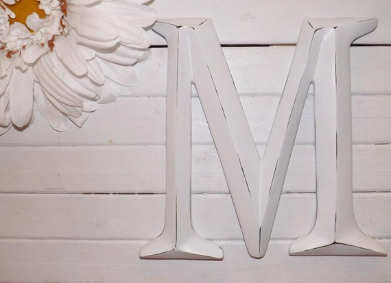 Large Letter M Capital Letter M Wall Letter By