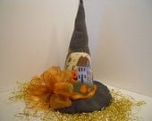 Halloween Witch Hat Centerpiece