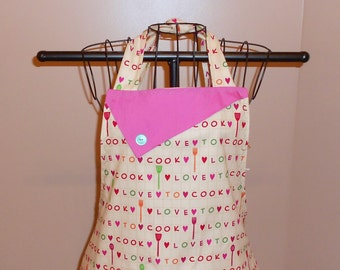 I Love To Cook Apron