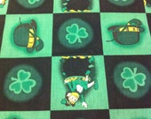 Irish Spirit Cotton Fabric/ Sewing Craft Supplies/Apparel Fabric/ Quilt 100% Cotton Fabric/Home Decor