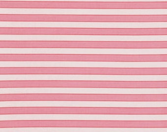 Cabana Stripe, Cotton Candy, Stripe Fabric, Pink Fabric, by the Yard, Verna Mosquera, Rosewater Fabric, One Yard