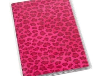 Passport Cover Pink Cheetah
