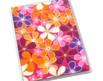 Passport Cover Girl Flowers