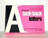 Tack Back Letters