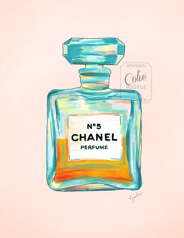 Chanel Print Art: Chandeliers & Pendant Lights