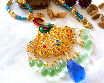SALE!! Royal Jaipur Peacock Necklace SALE!!