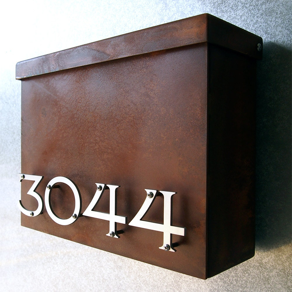 Custom victorian floating house number mailbox no 1310 in - Unique mailbox ideas for your home ...