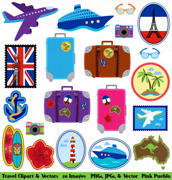 Clip Art Travel And Vacations Clipart 1