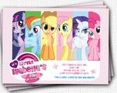 My Little Pony - Invitation - Printable