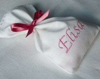 Favor bags in cotton - GIRL / Baptism / Idea / Ceremony / Birthday / Party / Boy / Girl