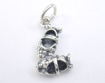 Sterling Silver Baby Booties Charm - Add a Charm