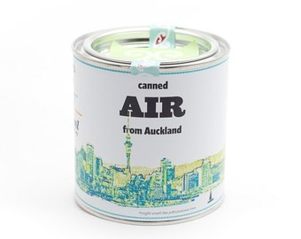 Original Canned Air From Auckland, New Zealand, gag souvenir, gift, memorabilia