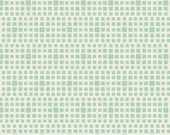 SQUARED ELEMENTS - Seafoam SE-604  - Art Gallery Fabrics - 1 yard