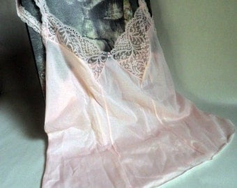 pretty PINK Camisole with Lace insets and stretchy lace straps
