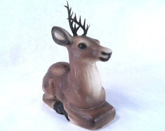 Buck Deer Bank Vintage 70s