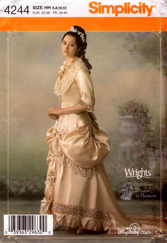 victorian bridal gown – The Pragmatic Costumer