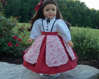 PDF Sewng Pattern - Prairie Flower-  Historical Sewing Pattern for American Girl Dolls