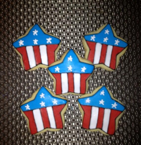 1 DZ Flag Cookies