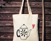 Tote bag Silkscreened Can