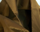Vintage 1950s Sharkskin Fabric Copper Bronze Brown Coat Upholstery Weight Yardage