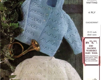 Knitting pattern Emu 8321. 19 to 22 inch.