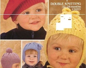 Knitting pattern Emu 8685.