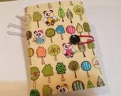 Sunny Happy Skies Pandas Crayon Wallet