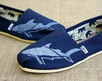 Shark Custom TOMS Shoes