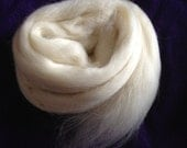 1oz Correidale Wool Spinning Fiber Cream Felting Fiber