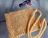 Crocheted Tote (will MAKE TO ORDER)