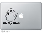 Lumpy Space Princess Oh My Glob Decal Adventure Time
