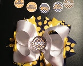 WVU Boutique Hairbow