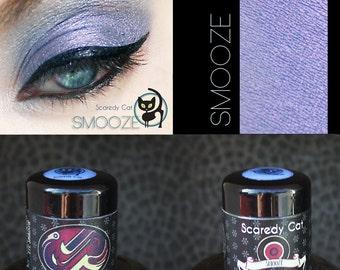 Violet Eye Shadow - Purple Eye Shadow  - Loose Mineral Pigment Eyeshadow - SCAREDY CAT - SMOOZE - 5 mL Sifter