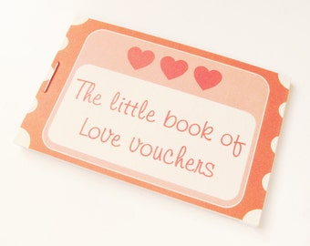 Love Voucher Token Book