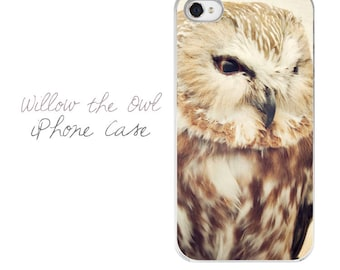 Owl iPhone Case, Owl iPhone 5 Case, Owl iPhone 4 Case, Owl iPhone Cover, Nature iPhone Case, Wildlife iPhone Case, Owl Electronics Case